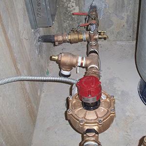 water pumping plumbing